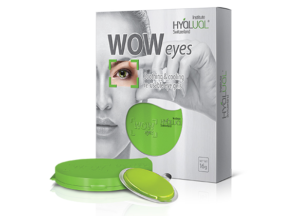 Reusable gel patches for the skin aroud the eyes WOW Eyes фото - 1